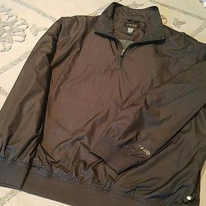 Izod XFG Jackets & Coats - Men's Izod XFG Windbreaker 1/4 Zip PulloverSize XL